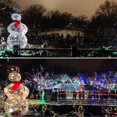 Lilacia Park Lighting