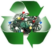 holiday tree recycling