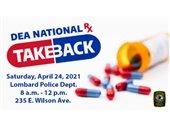 DEA take back