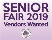 Senior Fair Vendors Wanted (JPG)