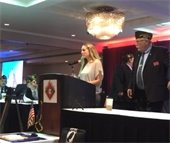 Officer Rojas VFW Public Servant of the Year