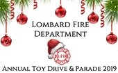 Fire Department Toy Drive and Parade