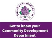 Get to know your community development department
