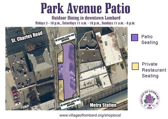 park avenue patio