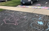 Lombard strong chalk message