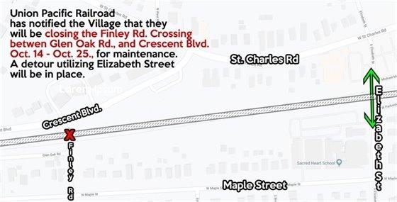 Finley Road Closure