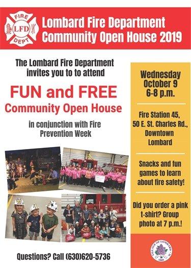 Fire Department Open House Flyer (JPG)