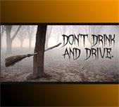 drive sober halloween
