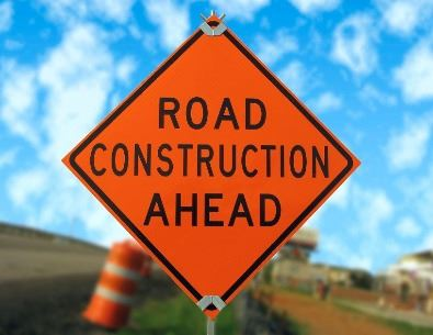road construction ahead (jpg)