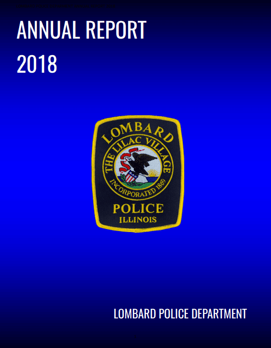 2018 Lombard Police Department Annual Report (JPG)