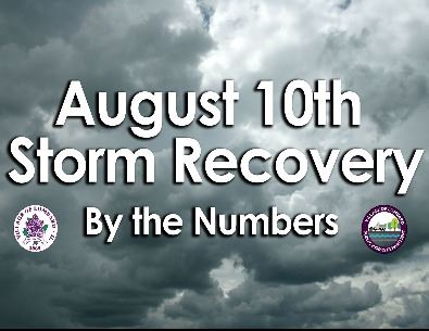 august 10th storm numbers