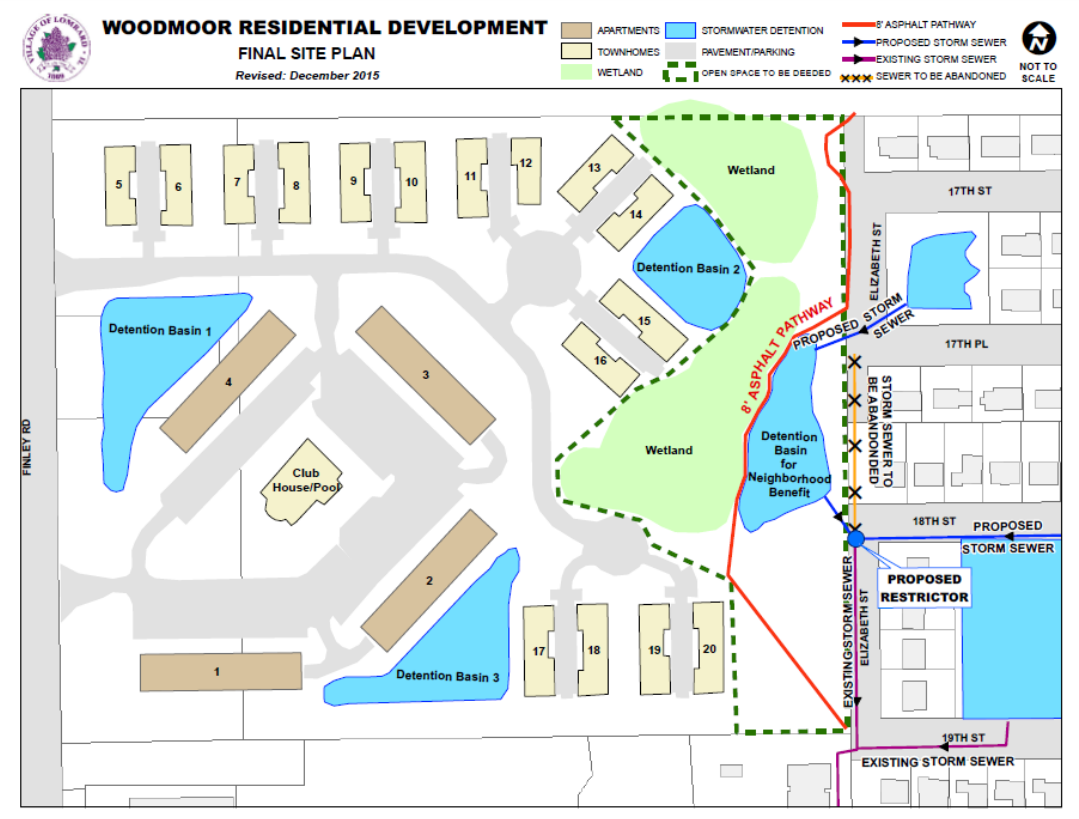 Woodmoor Residential Development Final Site Plan