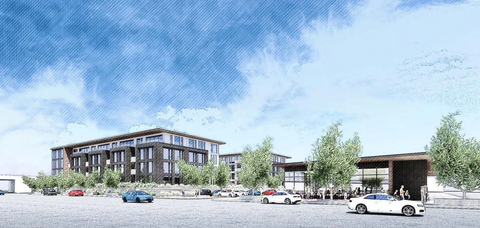 101 South Main Rendering