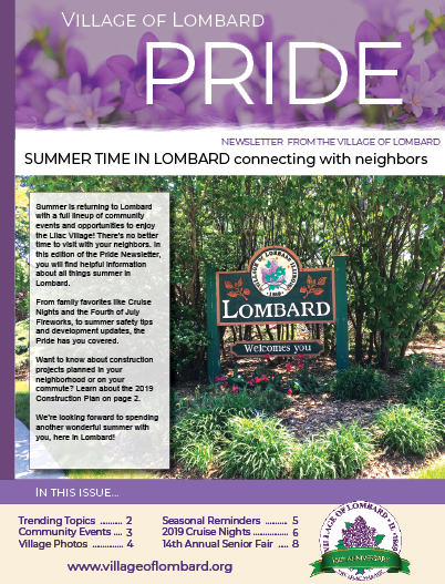 Pride Newsletter