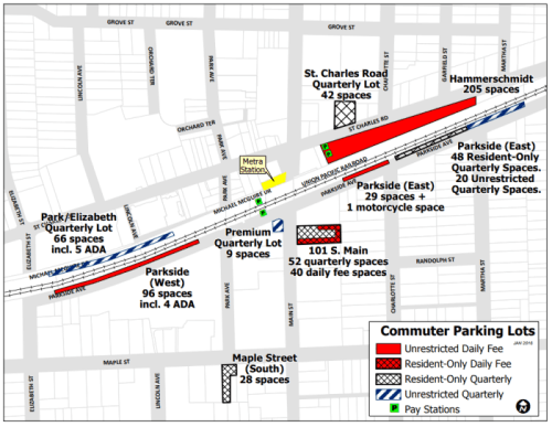 Commuter Parking Map Opens in new window