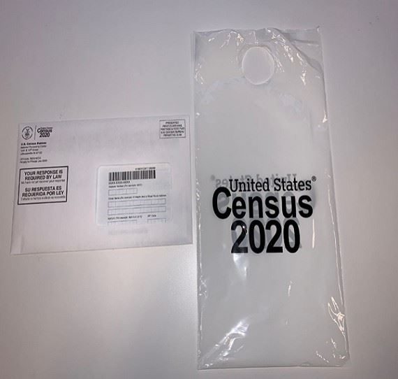 census taker bag hanger