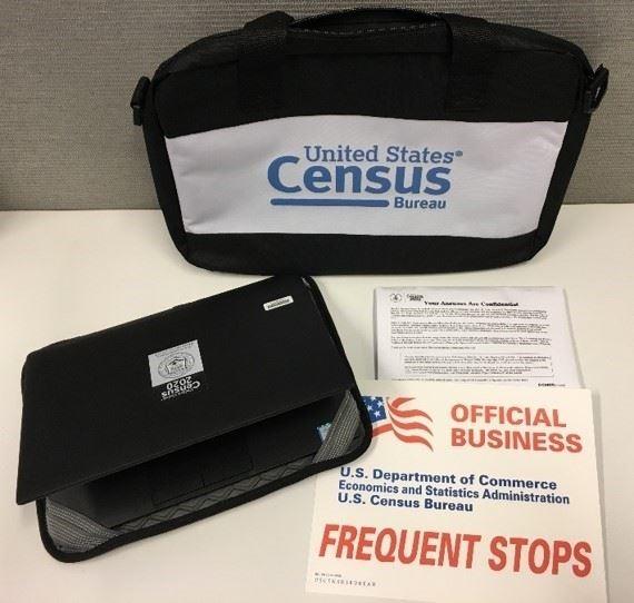 census taker badge
