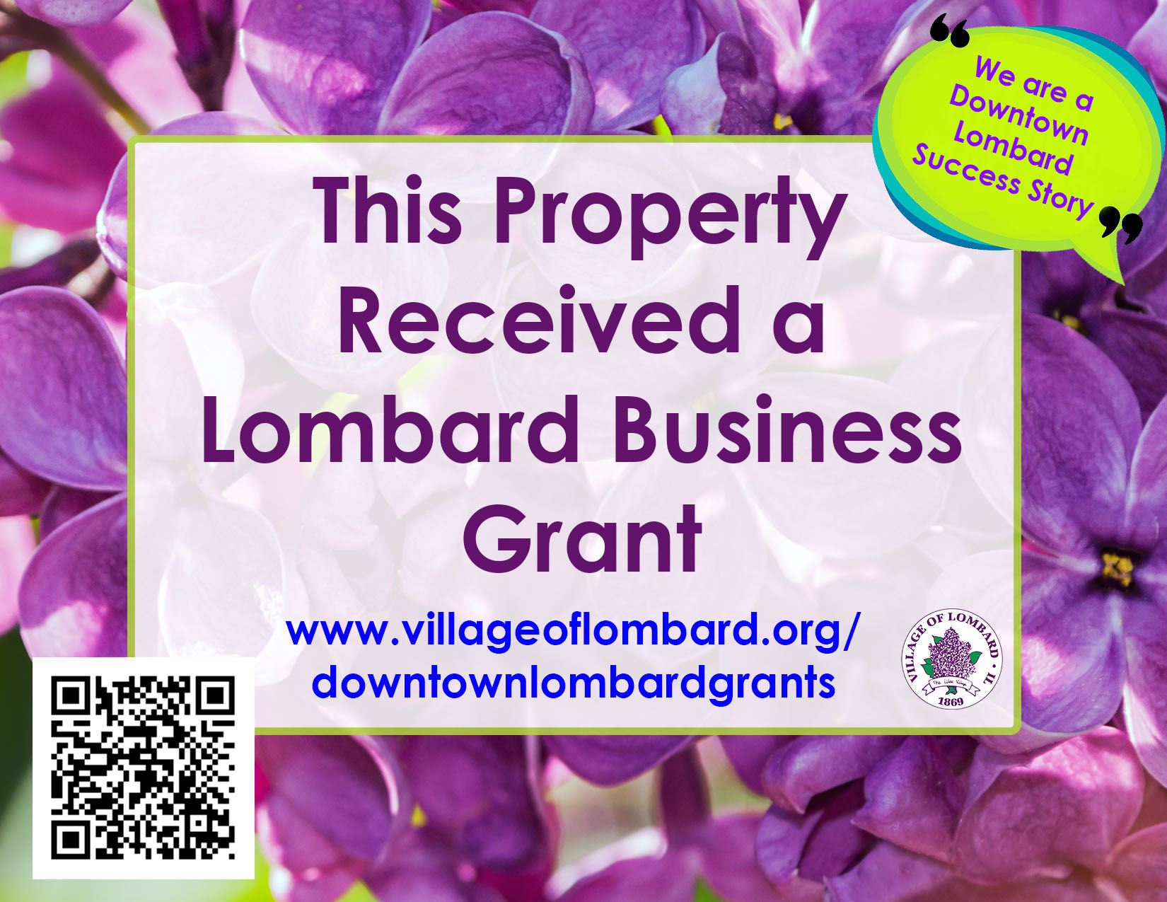 business grant sign